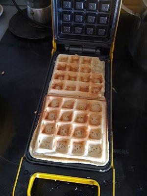 piastra waffle princess 132400 flip (cottura)