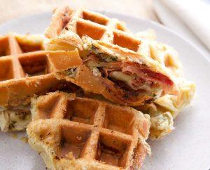 Waffle salati: ricetta di base